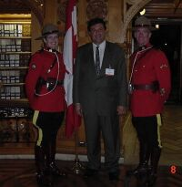 Royal Canadian Mountain Police, Canadian Parliament 2001